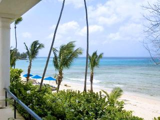 Barbados Villa 117 Beachfront Apartment On The First Floor With Breathtaking Views Across The Caribbean Sea. - Terres Basses vacation rentals