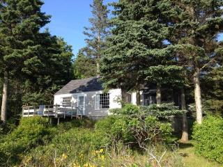 Oceanfront Cottage with Private Beach Southport Island Maine - Boothbay vacation rentals