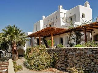 Sea view Magic Garden boasts a tranquil courtyard garden with pool & pergola - Mykonos vacation rentals