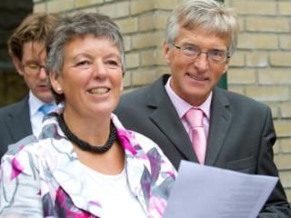 married couple, Feije and Anneke Sijbrandij. - Feije and Anneke Sijbrandij