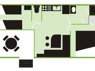 Bungalows Neptuno - Mobil Home X4 + Clima - Pals vacation rentals