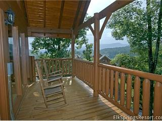 Romantic 1 Bedroom Special Getaway Cabin With Media Room, Screen Porch - Tennessee vacation rentals