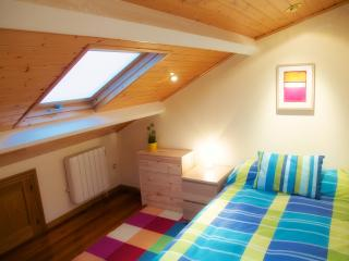 Nice attic bedroom with terrace - Galicia vacation rentals