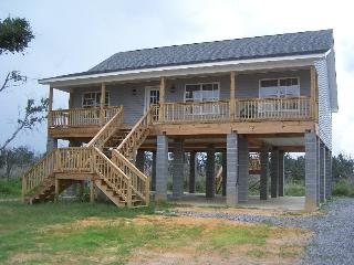 3 Bed. beach house overlooking the Gulf! - Mississippi vacation rentals