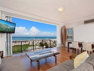 Absolute beachfront apartment - nothing but the sand. Palm Beach - Milltown vacation rentals
