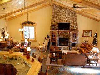 Eden Mountain Lodge: Executive Cabin with Forever Views and ALL the Amenities: Sleeps 14 - Big Bear Lake vacation rentals