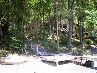 Gaylord Lakefront with 8 Person Hot Tub - Northeast Michigan vacation rentals