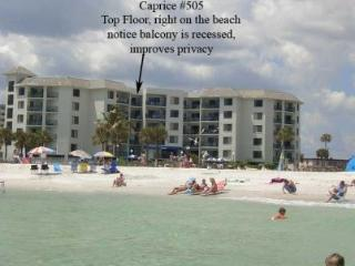 St. Pete Beach Gulf/Beach Front Fabulous Views - Saint Pete Beach vacation rentals