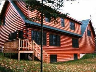 Log Home on Solberg Lake in Price County Wisconsin - Phillips vacation rentals