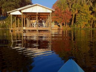 Riverfront House on St. Johns River & Lake George - Crescent City vacation rentals