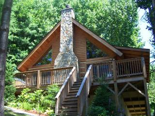 STUNNING LOG CABIN~HOT TUB~Fireplace~Views - Vilas vacation rentals