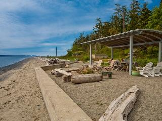 Luxury Beachfront Compound with Private Pool - Whidbey Island vacation rentals