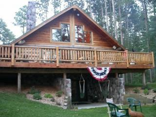 Three Lakes Log Home (Deer Lake,Three Lakes Wiscon - Wisconsin vacation rentals
