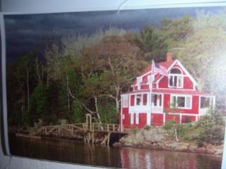 Cottage overlooking Linekin Bay, East Boothbay - Mid-Coast and Islands vacation rentals