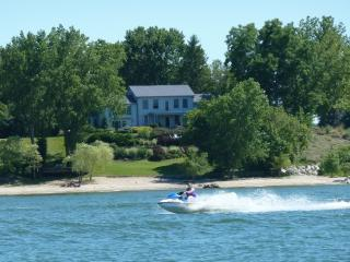 Huron OH Lakefront Home & Private Beach - Ohio vacation rentals