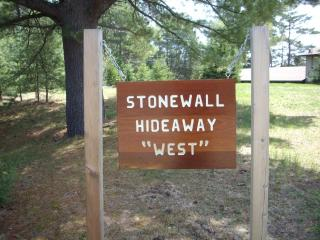 Stonewall Hideaway on Grand Portage Lake in Mercer - Wisconsin vacation rentals
