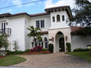Waterfront Estate Home, Private Beach - Highland Beach vacation rentals