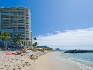 BEACH FRONT LUXURIOUS Condo at the Waikiki Shore - Honolulu vacation rentals