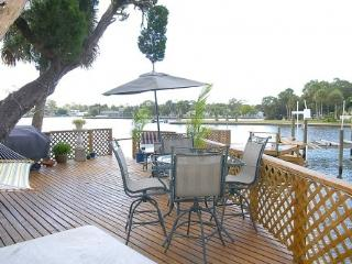 Waterfront! Pets OK! FREE WiFi! Boat Dock-Jaccuzi! - New Port Richey vacation rentals