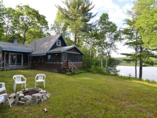 Waterfront Cottage on Patten Pond - DownEast and Acadia Maine vacation rentals