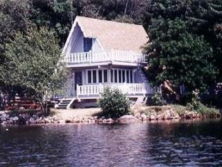 Lakefront and mountainside 3 br chalet - Western Maine vacation rentals