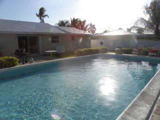 Beautiful Beach Home Steps from Ocean w Pool - Palm Beach Shores vacation rentals