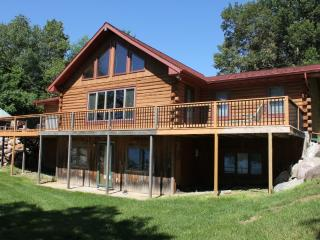 Log Cabin Home On Scenic May Lake, Walker MN - Walker vacation rentals