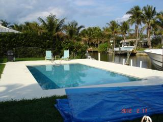 Waterfront/Pool home with boat dock & private pool - Jupiter vacation rentals