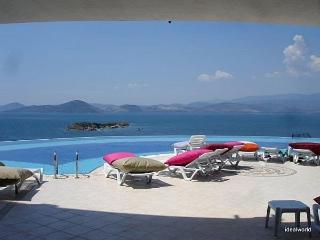 Penthouse Apartment overlooking Pool and Sea - Gulluk vacation rentals