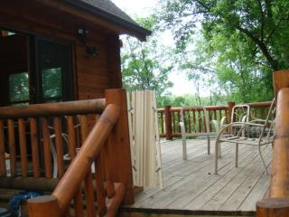 vacation getaway in the woods with lakeviews - Illinois vacation rentals