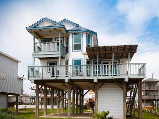 First Row Beach Front Home 5 O'clock Somewhere - Galveston vacation rentals
