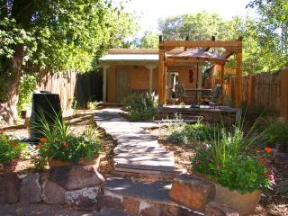 Casa Tres Hombres on Historic Canyon Road. - New Mexico vacation rentals