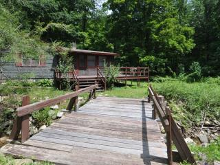 Cottage in Woods with Brook & Riverfront - Connecticut vacation rentals