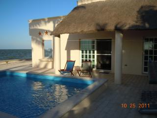 Beachfront home with pool - Telchac Puerto vacation rentals