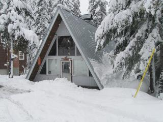Welcoming a Frame with Covered Hot Tub - Mount Hood vacation rentals