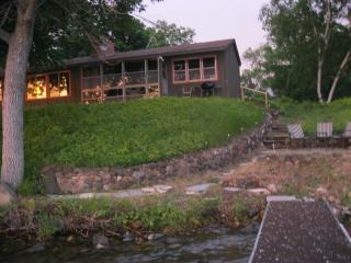 Vintage vacation cabin on beautiful Sugar Lake - Minnesota vacation rentals