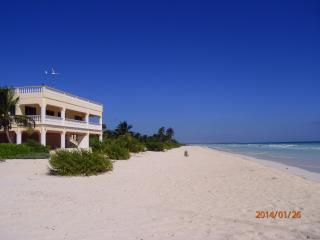 Caribbean Beachfront Home for Rent in Mexico - Xpuha vacation rentals