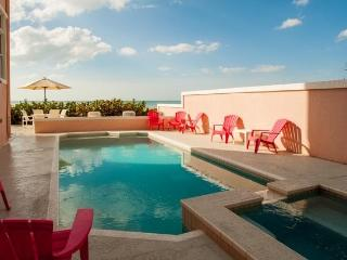 5 Bedroom Gulf Front Villa with Private Pool - Belleair Beach vacation rentals