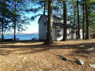 Lakefront Cottage with Downeast Decor: Tripp Lake - Poland vacation rentals