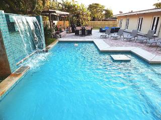 Magnificent Waterfall Pool Home - Fort Lauderdale vacation rentals