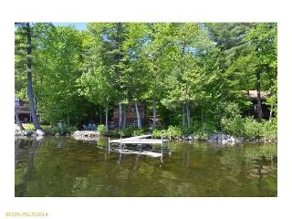 Waterfront Log Cabin style home on Thompson Lake - Western Maine vacation rentals