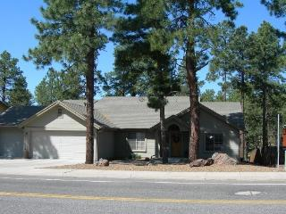 Single level 3 bedroom  home backs forest - Flagstaff vacation rentals