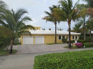 Private Large Pool Home a Block from the Beach - West Palm Beach vacation rentals