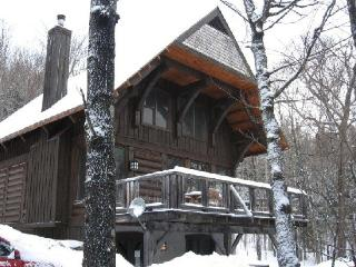 Tremblant Nord - 4 Bedroom Luxurious log cottage - Quebec vacation rentals