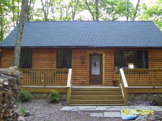 POCONOS LOG CABIN VACATION RENTAL - White Haven vacation rentals