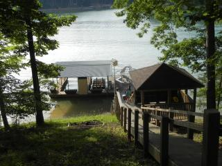 Luxury Lakefront Custom Home, Private Covered Dock - La Follette vacation rentals