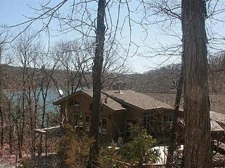 Secluded Beaver Lakefront Home with Boat Dock - Eureka Springs vacation rentals