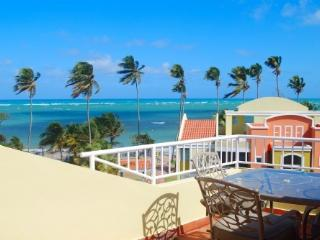 True Beachfront Penthouse with Ocean Surf Sounds - Puerto Rico vacation rentals