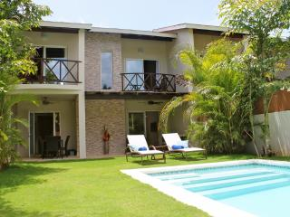 1 or 2 houses up to 12 persons, at 100m from the beach! - Las Terrenas vacation rentals
