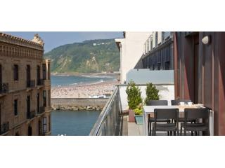 Boulevard Terrace | Design apartment with 4 terraces in the Old Town - San Sebastian vacation rentals
